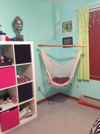 hanging hammock chair for bedroom | Beds | Pinterest