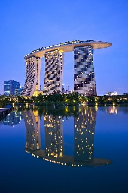 Marina Bay Reflection