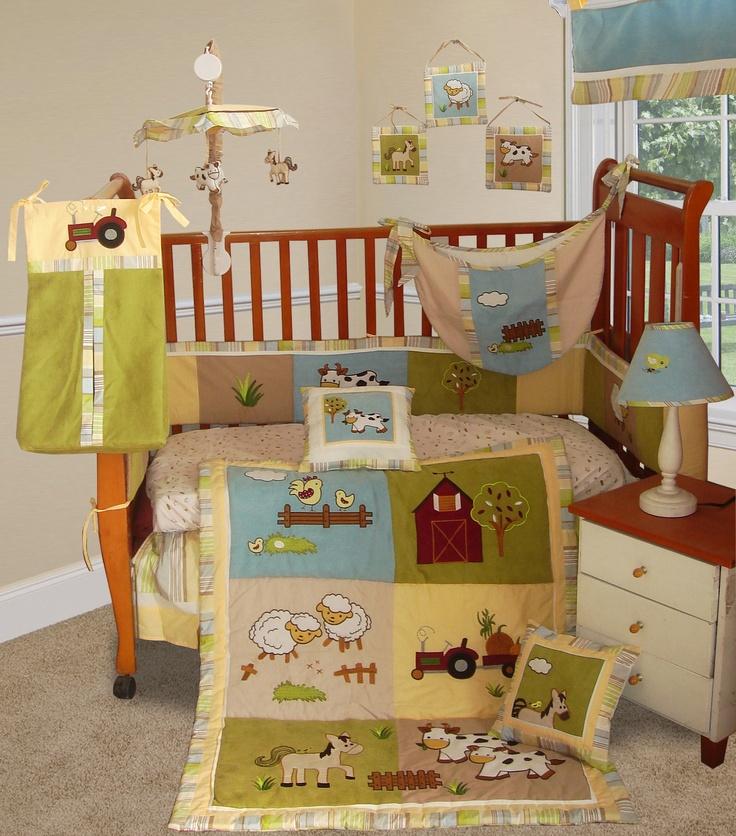 farm crib bedding