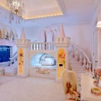 Princess bedroom decor!