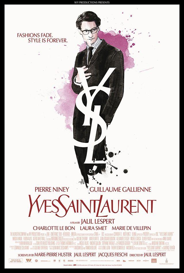 A new movie: Yves Saint Laurent