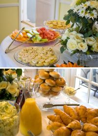 Bridal Shower Brunch, food table | random stuff | Pinterest