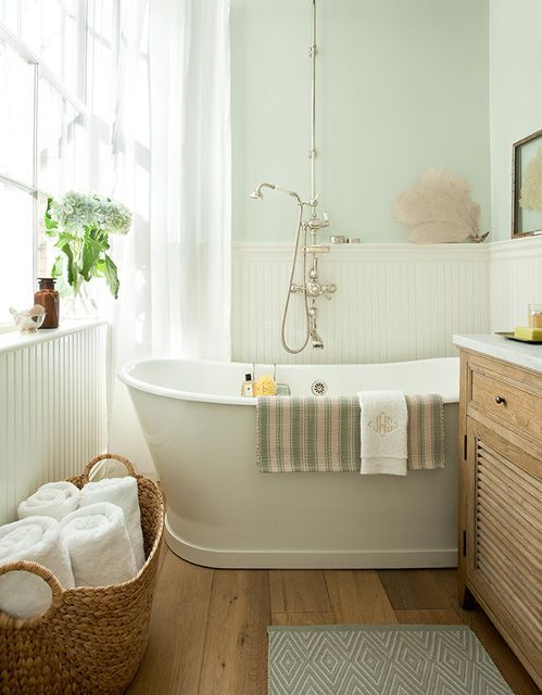 Powder Bathroom Inspiration Take 2 | The Wood Grain Cottage