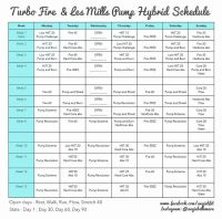 Turbo Fire and Les Mills Pump Hybrid Schedule! and free ...