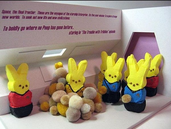 Where no Peeps have gone before......