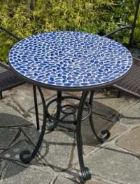 Faro Mosaic Bistro Table | Mosaic Tile Ideas | Pinterest