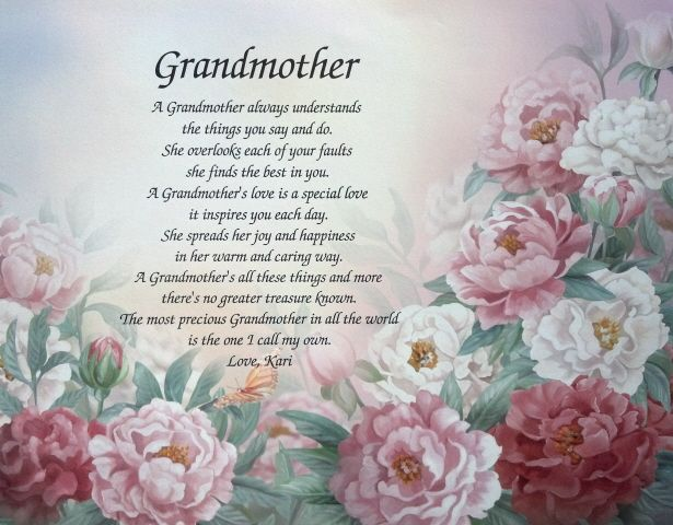 Grandmas gone to heaven poem for Poems about fishing in heaven