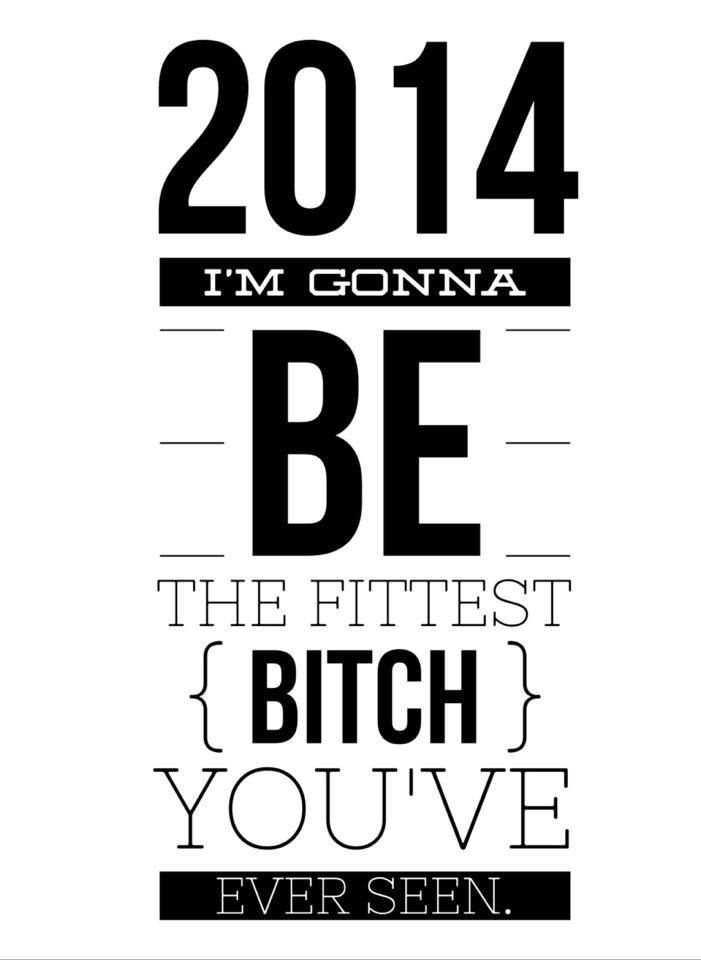 Absolutely!!! I have not been in shape for years. I am so motivated to be the best me by starting with my health and fitness. This is the year!!! This quote is my inspiration to myself. Keep going and don't give up no matter what.
