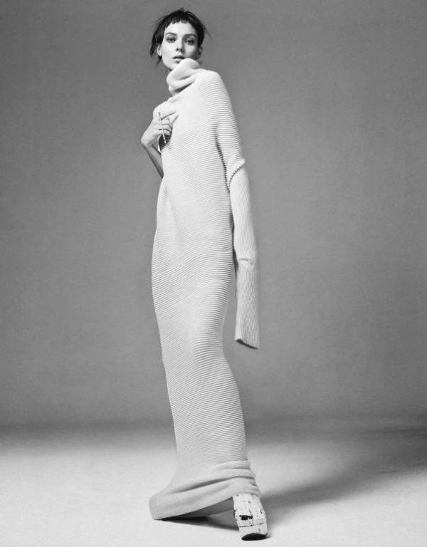 knitGrandeur: Trend Watch: The Long Column Knit Dress