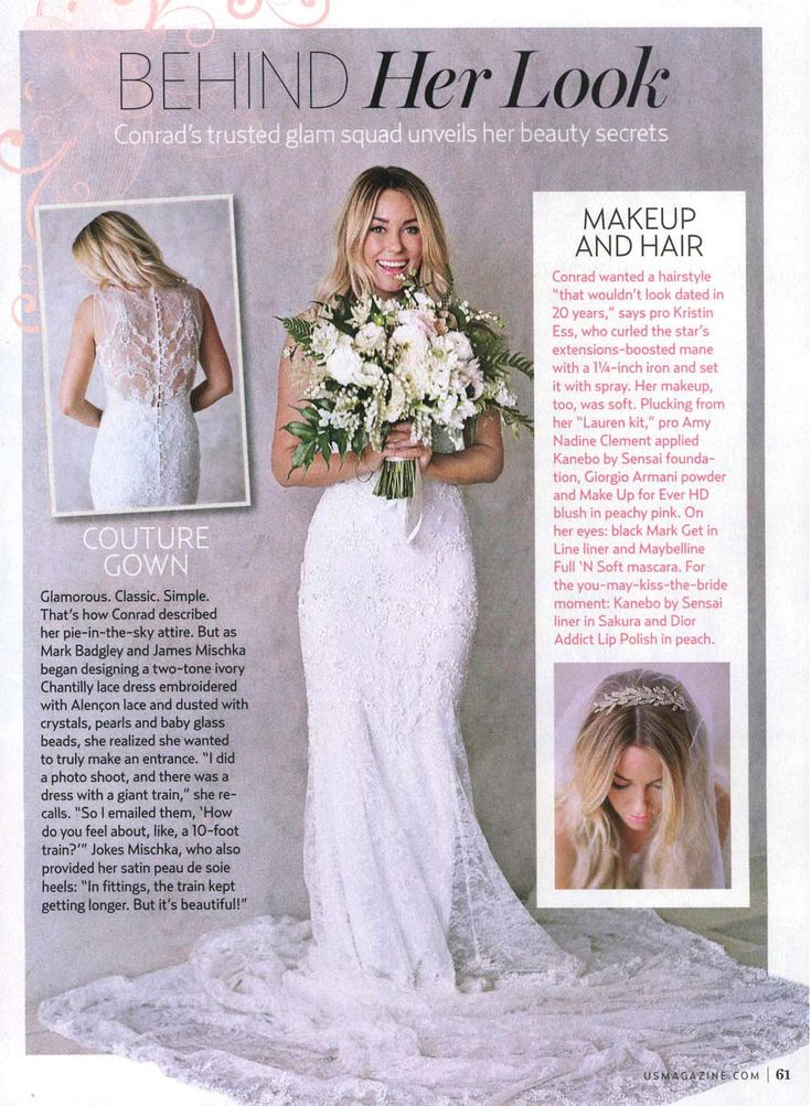 Us Weekly, Inside Lauren Conrad's Wedding