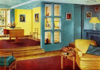 1950s home interiors - Google Search | Modern Vintage ...