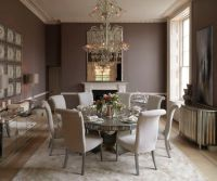 Taupe walls with antique mirroring | Wall colors | Pinterest