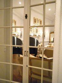 Mirrored french doors | Paris apartment | Pinterest