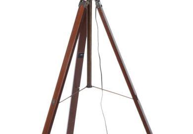 Industrial Tripod Floor Lamps