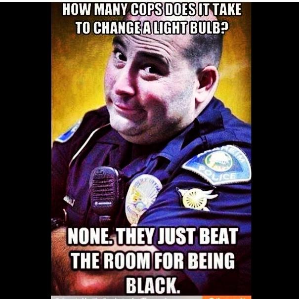 Blonde Police Officer Joke