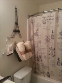 My Paris Themed bathroom | My projects | Pinterest