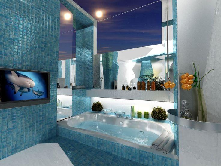 Pomysły Na Turkusową łazienkę Inspiracje Do Podglądnięcia