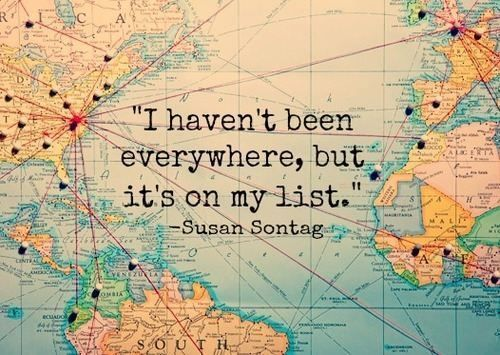 What's on your list? #travel #wanderlust