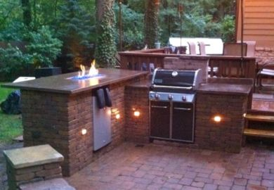 Backyard Bar Grill Ideas