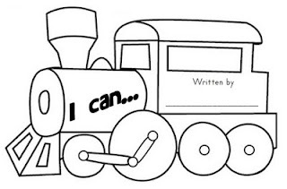 Little Engine That Could Clip Art Sketch Coloring Page