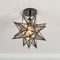 Moravian Star Ceiling Light Available in 2 Colors ...