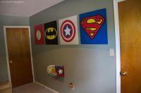 Superhero wall art | Misc. Things for my little boy ...