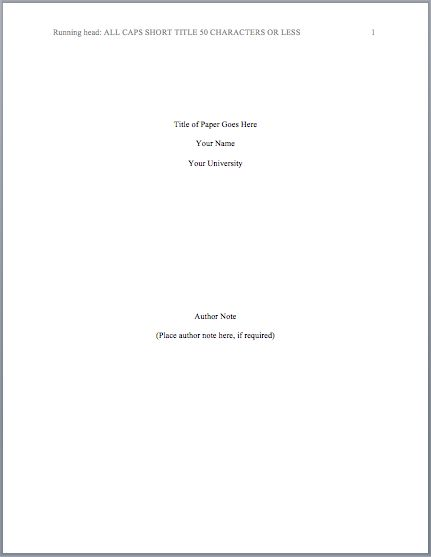 Annotated bibliography title page