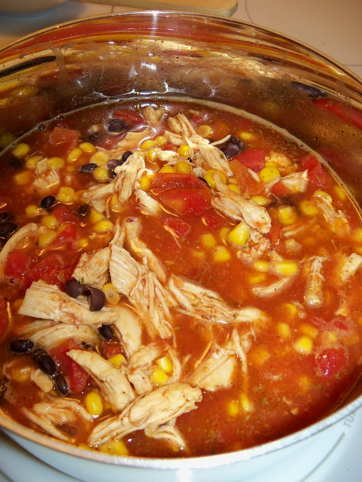Food Network Recipes Chicken Tortilla Soup
