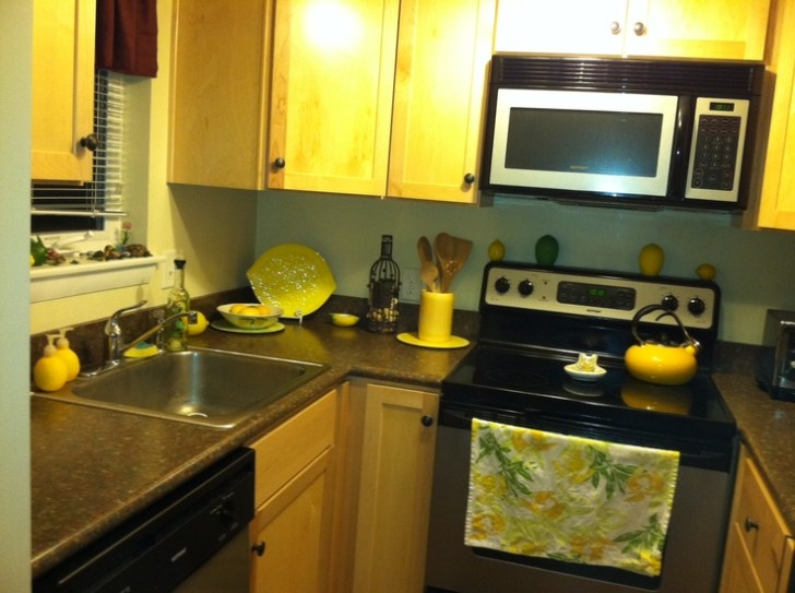 Lemon Themed Kitchen French Home Decor