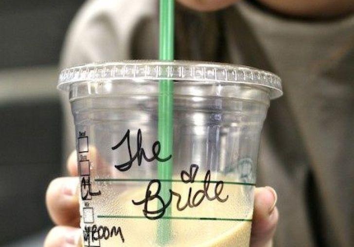 Free Starbucks On Wedding Day