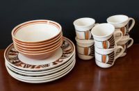 Vernon Ware Metlox Mesa Hand Painted Dinnerware ...