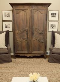 Singley Living Room Antique Armoire | For the Home | Pinterest
