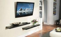 Wall Mount Tv Shelf Ideas | Hook up my Place | Pinterest