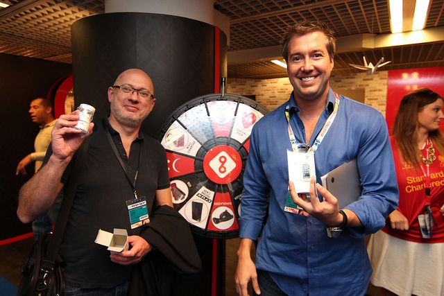 Prize Wheel Winners at MIPCOM
