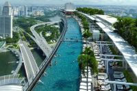Singapore. ..hotel rooftop pool | Studio C IDEAS | Pinterest