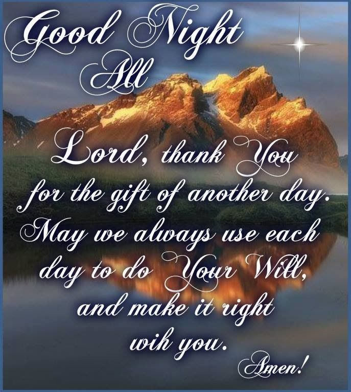 Goodnight Blessing Quotes