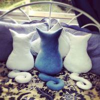 Cat pillows   Awesomeness   Pinterest