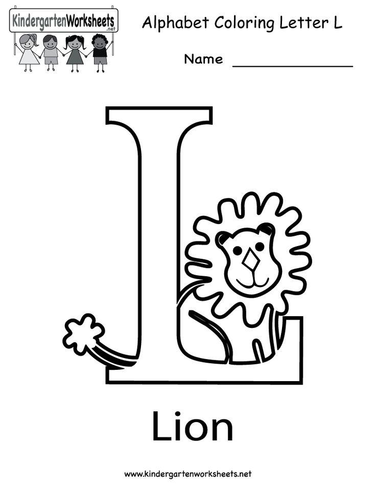 Resume Format: Letter C Kindergarten Web