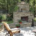 Outdoor fireplace plans do yourself fireplaces and outdoor wood