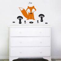 Wall Decal Fox | 4make Wall Decals | Pinterest