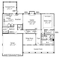 Cape cod style house floor plans   Additions   Pinterest