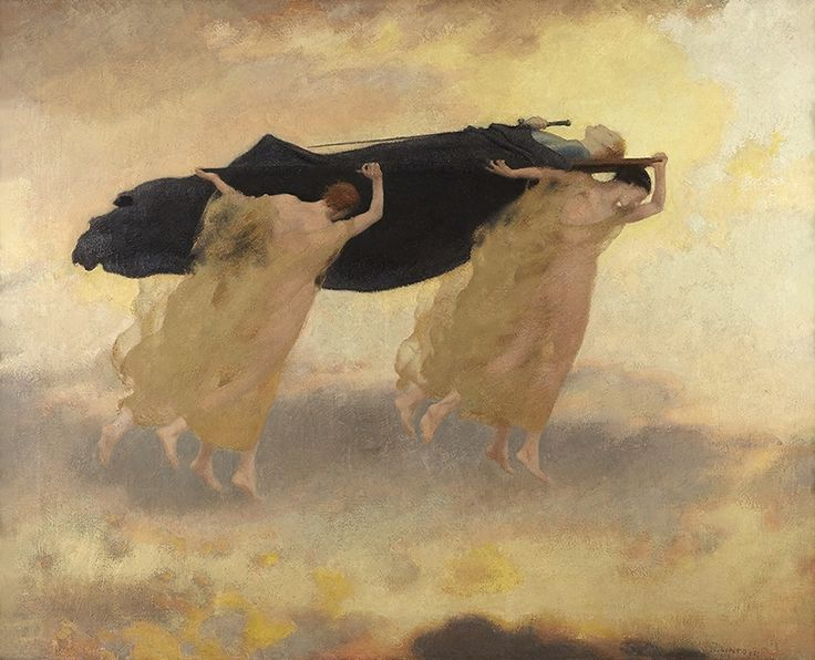 Henry Lintott, Avatar, 1916, Royal Scottish Academy of Art & Architecture (Diploma Collection), Conserved with the aid of a grant from the AIM Pilgrim Trust Conservation Scheme