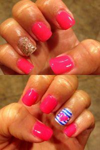 Gel polish designs Summer nails | Gel Nails | Pinterest