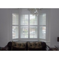 idea for bay window blinds | My House | Pinterest