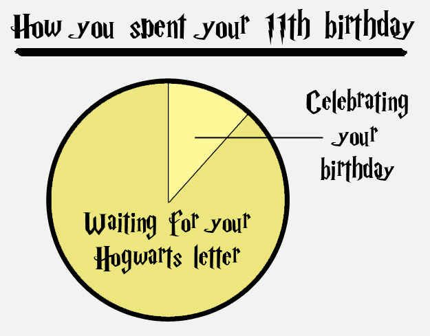 The whole time I waited I sobbed uncontrollably. 14 Charts That Only Harry Potter Geeks Will Understand