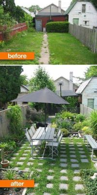 Backyard Makeover Before And After | Mystical Designs and Tags