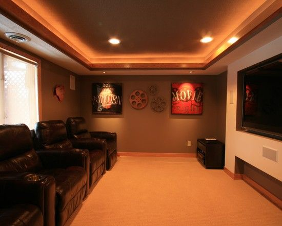 Cheap home movie theater ideas for Home theater decorations cheap
