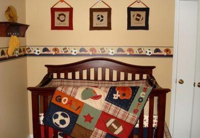 Nojo Sports Crib Bedding