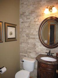 Half Bathroom Tile Ideas | Home Design Ideas