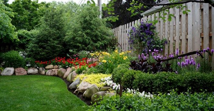 Landscaping Ideas Front House Full Sun House And Home Design